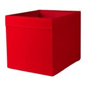 IKEA DRONA - Box, red - 33x38x33 cm