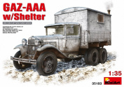 Miniart 1:35 - GAZ-AAA With Shelter -