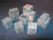 1/35 Scale - Boxes / stowage pack - assorted crates