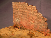 1/35 Scale - Collapsed wall section