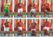 Match Attax 2015/2016 Manchester United Team Base Set Plus Star Player, Captain & Away Kit Cards 15/16