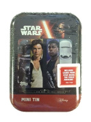 JOURNEY TO STAR WARS ATTAX ~ THE FORCE AWAKENS ~ COLLECTOR TIN ~ INCLUDES LIMITED EDITION CARD PLUS 24 CARDS