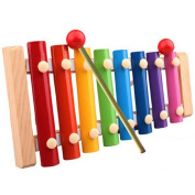 Tonsee® Baby Kid Musical Toys Xylophone Wisdom Development Wooden Instrument