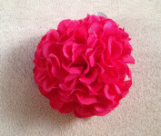 New Small Marigold Artificial Flower Hair Clip/Pin Brooch