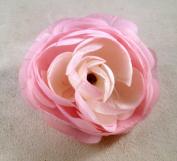 New Medium Ranunculus Artificial Flower Hair Clip/Pin Brooch