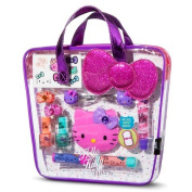 Hello Kitty Cosmetic Bag with Plush Bow