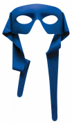 Mysterious Blue Eye Men Mask with Tie