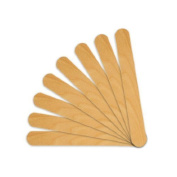 Huini 1200 Count Salon Waxing Hair Removal Large Wooden Spatulas Wax Applicator 15cm x 1.9cm