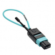 MTP / MPO Fiber Optic Loopback Tester (Multimode 50/125um, OM3) - Female