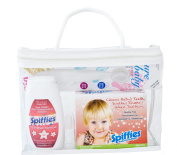 Spiffies Oh Baby Smiles Pack Toothwipes and I Can Brush, Apple and Strawberry, 350ml