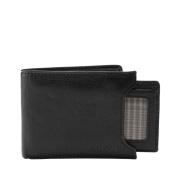 Fossil Ingram Sliding 2 in 1 Men's Wallet Black Ml3288001