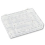 Beading Storage Box 7 Compartment with Snap Lid 2.5cm - 1.3cm x 9.5cm x 7/20cm