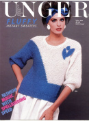 Unger Fluffy Instant Sweaters Vol. 364 - Pattern Leaflet with 4 Designs for Women
