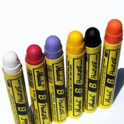 Markal B Paintstik Solid Paint Hobo Marker Set of 6 Vibrant Colours