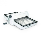 Sizzix 660900 Big Shot Pro Cutting/Embossing Machine with Extended Accessories, Large, White and Grey
