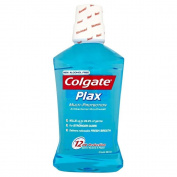 Colgate Plax Alcohol Free Multi Protection Cool Mint Mouthwash (500Ml) - Pack Of 6