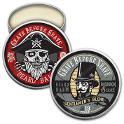GBS Top Shelf Bourbon & Bay Rum Beard Balm Dual Pack
