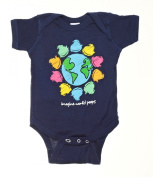 Peeps Navy Blue Infant Onsie - 18MO