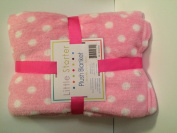 Little Starter Pink Plush Blanket
