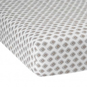 Lambs & Ivy Mix and Match Jett Crib Sheet, Mod Print