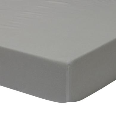 Sydney Cotton Jersey Sheet - Solid Grey