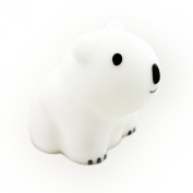 "PAUL ""Brilliant LED"" Polar Bear Night Light (Shake Sensor) by Lumitusi"
