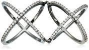 Noir Jewellery Eltham Hinge Ring