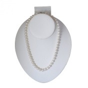 White Freshwater Cultured a Quality Pearl Necklace (7.5-8.0 mm), 20""
