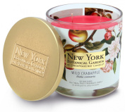 New York Botanical Garden by Chesapeake Bay Candle Decorative 2-Wick Jar with Lid, Wild Crabapple