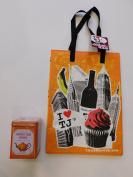 Trader Joe's Pumpkin Spice Rooibos Herbal Blend Beverage And NY Style Reusable Shopping Bag