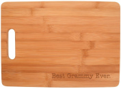 Best Grammy Ever Grandma Gift Kitchen Décor Big Rectangle Bamboo Cutting Board Bamboo