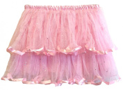 Hairbows Unlimited Two Tiered Satin Ribbon Lined Ballet Dance Tutu