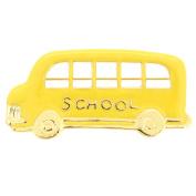 Teacher's School Bus Brooch