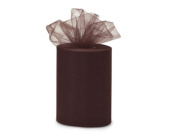 Wedding Tulle Roll BROWN Great Price 15cm x 90m