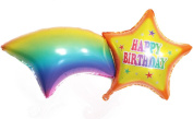 "Helium Foil balloons , Party Wedding Supply ""HAPPY BIRTHDAY"""