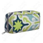 9540 - Stylish Dr. Mom Essential Oil Carrying Case (holds 10 vials) - Blue Canal