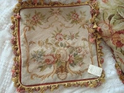 New Royal Collection Handmade Wool Needlepoint Cushion Cover/ Pillow Sham NP391