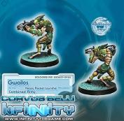 Combined Gwailos With Heavy Rocket Launcher Miniature Corvus Belli