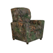 Dozydotes Child Recliner with Cup Holder Camouflage Green - True Timber DZD9755