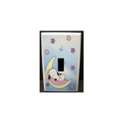 Baby Snoopy Single Light Switch Cover Plate for Nursery