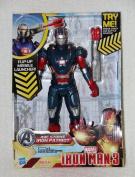 Marvel Iron Man 3 Avengers Initiative Arc Strike Iron Patriot Figure by Hasbro Toys