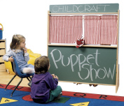 Childcraft Play Store and Puppet Theatre, 45-1/2 W x 19-1/2 D x 50-3/4 H in