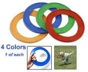 Pet Ring Fetch Frisbee Rings - Interactive Play - Dogs Love Them!