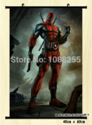 Anime family Wall Scroll Home Decor Deadpool Marvel Poster