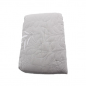 Martha Stewart Serenade Quilted Standard Pillow Sham in Muted Silver