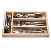 Laguiole Flatware Stainless by Jean Dubost Set of 24, #17314