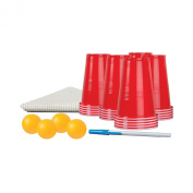 Black Series Beer Pong Game Set