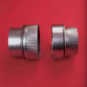 Heat-fab Increaser 15cm (male)crimped-20cm (female) 304-alloy