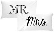 Oh, Susannah Mr and Mrs Pillow Cases Gift for Couples Wedding Decoration Bride and Groom Anniversary Gifts for Her or Him His and Hers Gifts