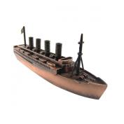 Metal Bronze Model Replica Cruise Ship Ocean Liner Die Cast Toy Pencil Sharpener